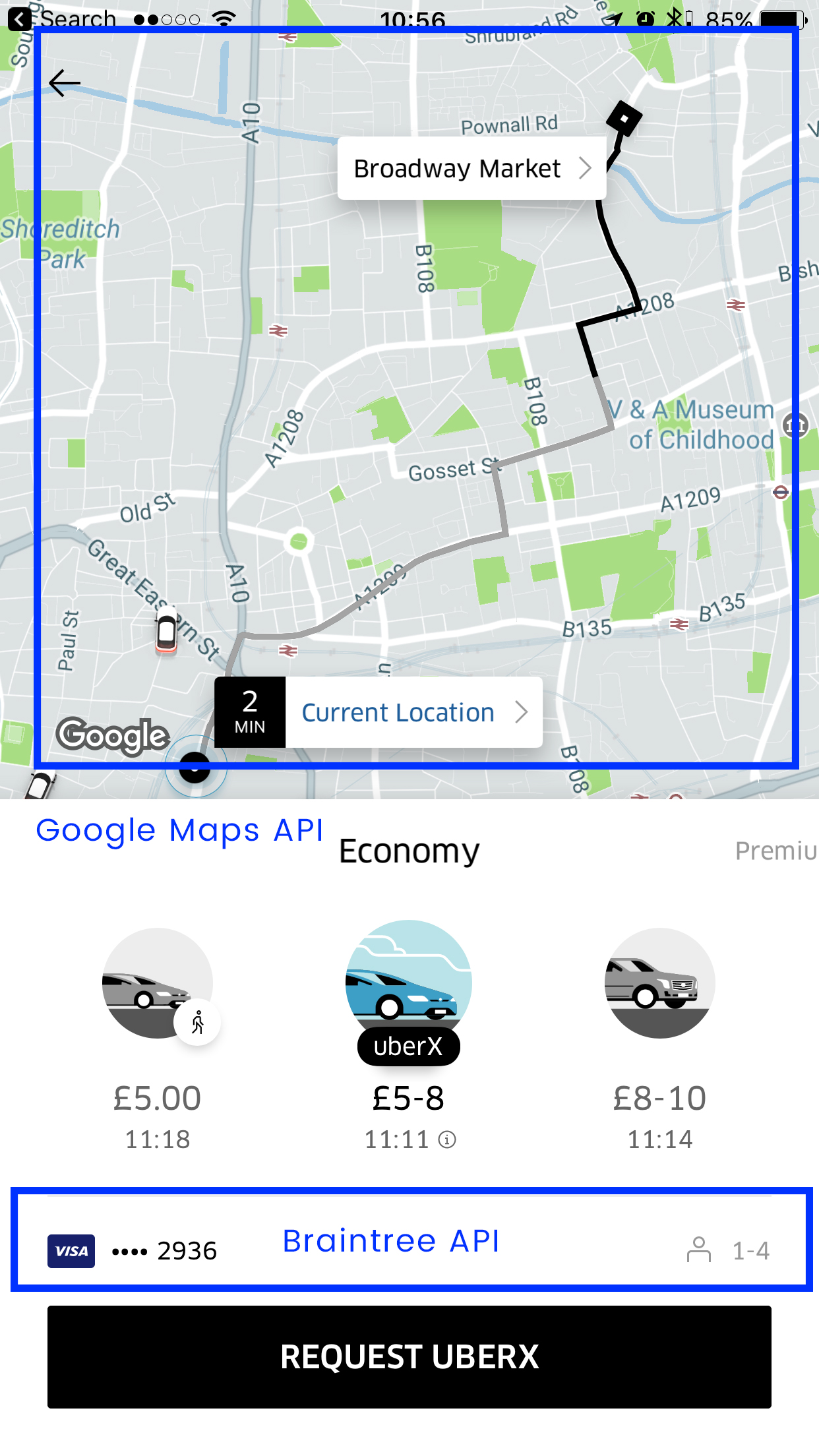 How Uber uses APIs